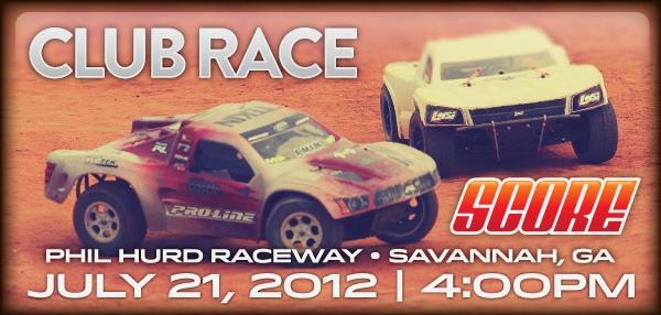Club Race - July 21, 2012 - 4:00PM